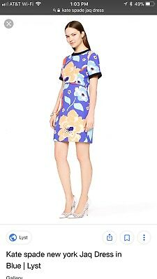 dce6c16949fa KATE SPADE NEW york double layer butterfly dress size 0 - $70.00 ...
