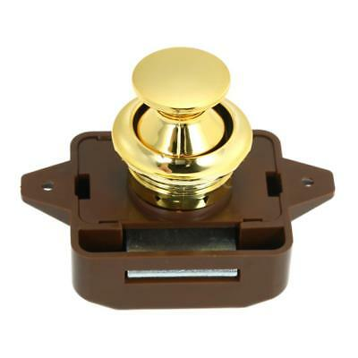Large Push Button Cabinet Latch for Rv/Motor Home Cupboard Caravan Lock for D2E6