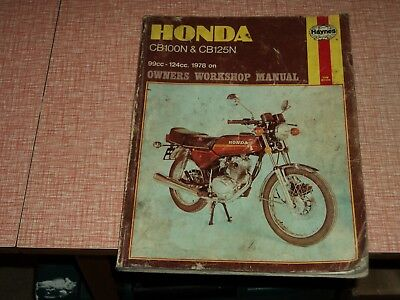 Honda cb 125 200 twin 1964 on haynes manual 900 picclick uk haynes honda cb100n cb125n 1978 on workshop manual fandeluxe Image collections