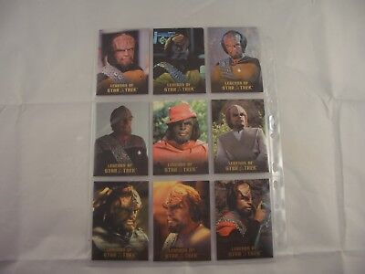 Legends of Star Trek LT. Commander Worf  L1-L9 0640/1701