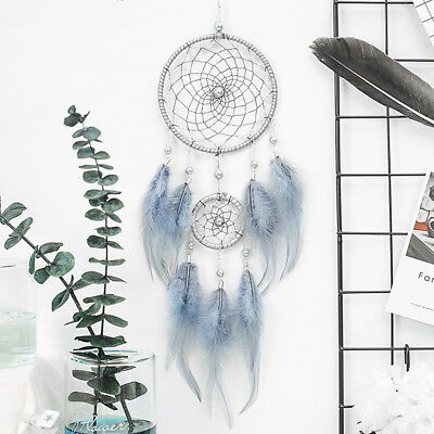 Creative Dream Catcher Wall Hanging Decoration Ornament Large Feather Craft Gift