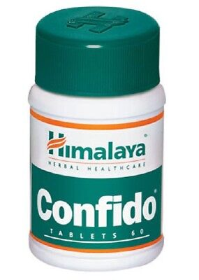 3 X Himalaya Herbals Confido - 60 Tablet / Pack - Fresh Stock - Fast Shipping