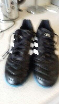4c805ceeaef5 Adidas Goletto Mens Football Astro Turf Trainers Art No.f33028 Size 9 In Vgc