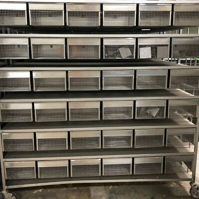 Allentown Stainless Steel Rodent Breeding Rack Edstrom Stainless Water Lines