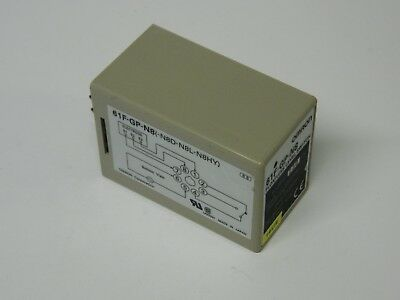 Omron 61F-GP-N8 230vac Floatless Switch 8 pin 250vac 8A SPDT