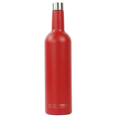 The VINE - Insulated Stainless Steel Wine Bottle - 750ml (EcoVessel)