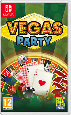 Vegas Party Nintendo Switch Game | BRAND NEW & SEALED