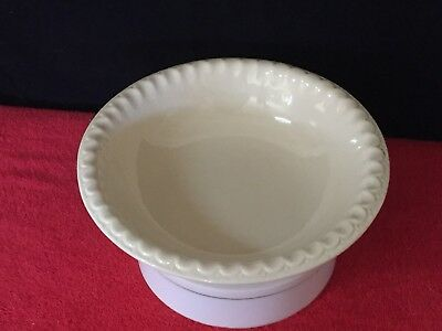 "McCoy Pottery Basin Bowl USA 10.5"" Diameter Beige Color #7514 - Ships Free"