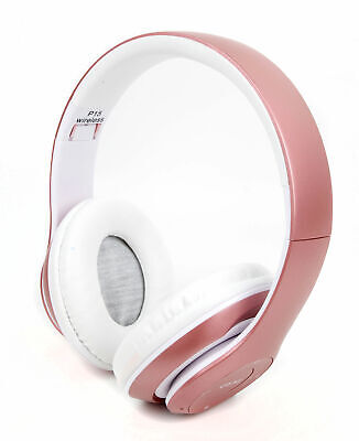 Wireless, Foldable Headphone headset W/ FM Radio and Mic  for Landvo XM200 Pro