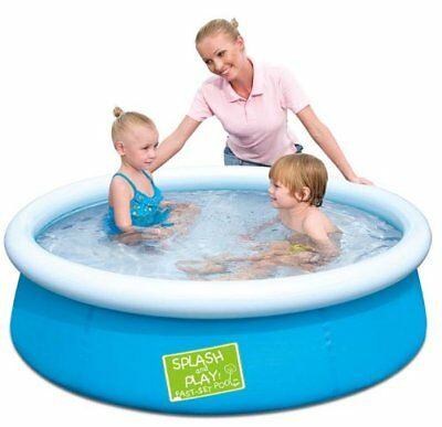 Bestway Splash and Play First Fast Set Paddling Pool 5ft Baby Kids Children Dogs