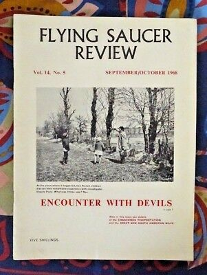 FLYING SAUCER REVIEW MAGAZINE Vol 14 No.5 1968 Encounter With Devils France FSR