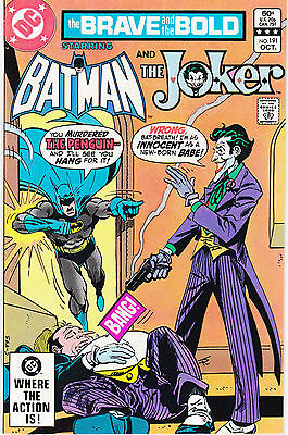 Brave And The Bold 191 - Joker & Penguin App (Modern Age 1982) - 8.5