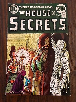 The House of Secrets #108 DC Comics 1973 Free Shipping Nice Copy