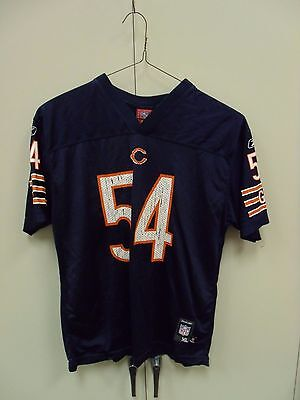 CHICAGO BEARS  54 Brian Urlacher Nfl Football Jersey Youth Size Xl ... 4dd1eed7f