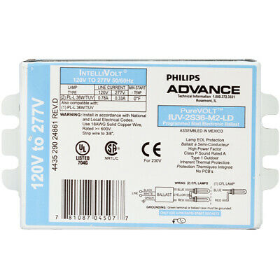 REPLACEMENT BALLAST FOR PHILIPS IUV-2S60M4LD35M 2534W