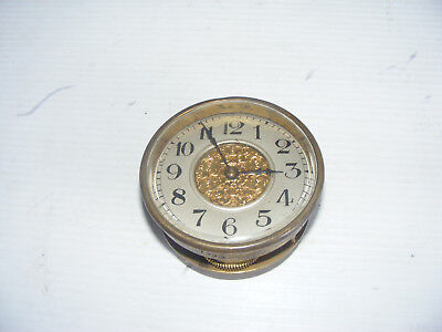 Antique Clock Parts - Clock Face And Workings - ( Spares Or Repair )