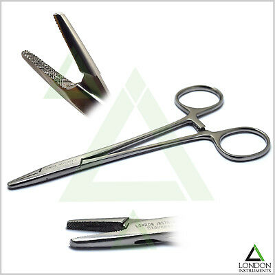 Surgical Locking Pliers Artery Clamp Forceps Mayo Hegar Needle Holder Suture Lab