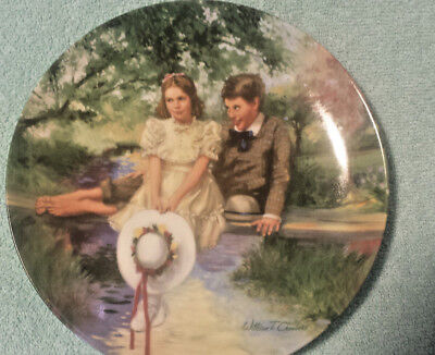 """EDWIN M KNOWLES """"BECKY AND TOM"""" by WILLIAM CHAMBERS"""