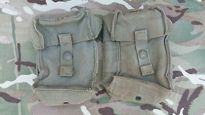 SADF- R1 (FN) AMMO POUCHES 1970's-1980's X2