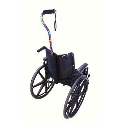 Universal Cane Holder for Wheelchairs and Scooters