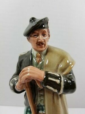 """1996 Royal Doulton Figurine """"The Laird"""" Scottish Gentleman in Perfect Condition"""
