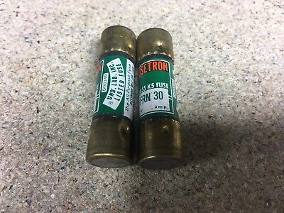 FRN 30 Cartridge Fuse Duel Element  Bussmann 30 Amp Quantity 2