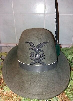 post WW2 ALPINI cappello Artiglieria Alpina truppa 1° Regg.to Aosta 7a  Batteria 398b76d8b886