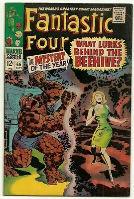 Fantastic Four # 66 + 67  [1ST Appearances of HIM! - Adam Warlock]