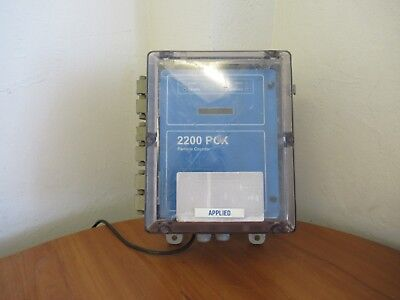 HACH 2200 PCX/WW 2084434-01 Particle Counter for Water Treatment #6203 L