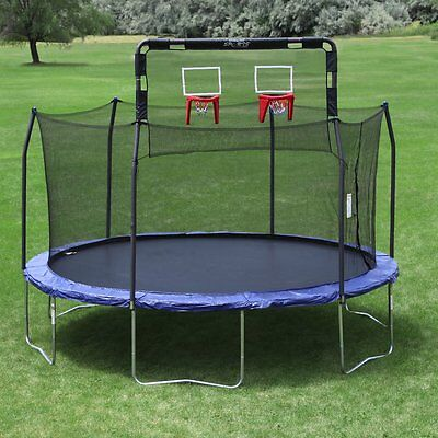 Skywalker Trampolines Double Basketball Hoop for Trampolines, Red