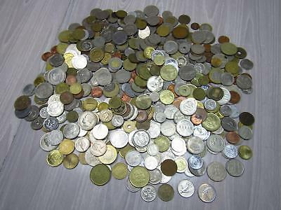5+ Lb Lot of Foreign World Currency Coins Europe Asia Africa