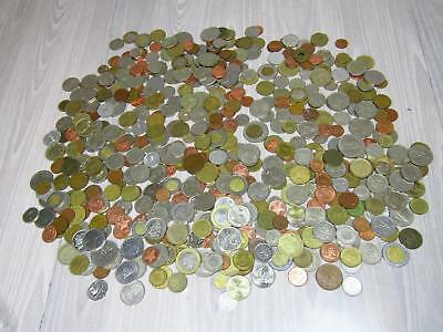 5+ Lb Lot of Foreign World Currency Coins South American Australia Europe