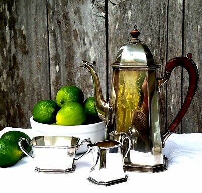 TIFFANY Sterling Tea or Coffee Set 3 piece 1960's
