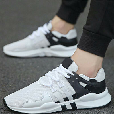 Men's Sports Shoes Outdoor Athletic Running Sneakers Casual Breathable Trainers