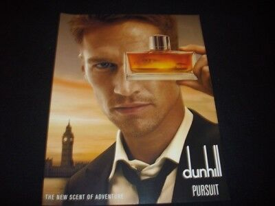 DUNHILL men's cologne magazineads lot *