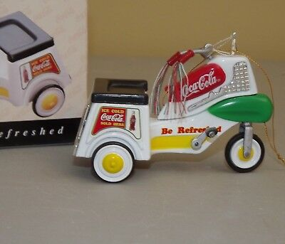 COCA - COLA PEDAL TRIKE  DRIVE REFRESHED COLLECTOR EDITION Kiddie Car