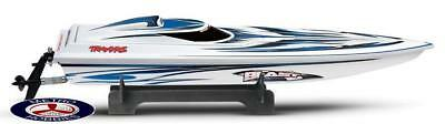 Traxxas Blast Race Boat RTR w/- TQI 2.4GHz Radio ID Battery & 4A DC Charger 3810