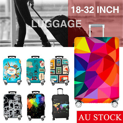 Travel Elastic Luggage Trolley Case Cover Suitcase Protector Case Bag 18-32''