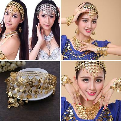 Belly Dance Headwear India Dancing Coin-like Sequins Costume Hair Band Exotic