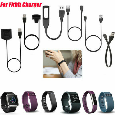 USB Charging Charger Cable for Fitbit Flex/One/Force/Blaze/Surge Bracelet Band