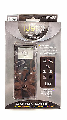 iJet Wireless Remote Control for iPod Nano - Black NEW! SEALED! FREE SHIPPING!