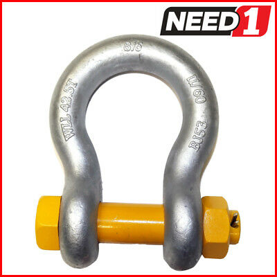 BEAVER Safety Pin Bow Shackle, WLL 42.5T