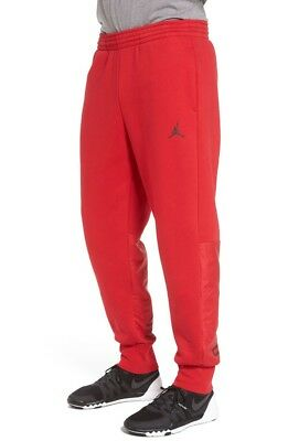 e47277b06a4c BNWT MENS JORDAN RETRO 11 XI HYBRID PANTS RED 908364-687 Win Like 96 SIZE