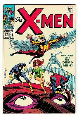 Marvel comics X MEN 49 7.0 VFN-  1st appearance Polaris Demi men Cyclops beast