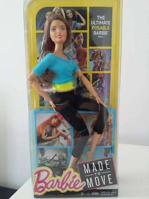 NRFB Brand New & HTF Barbie Made to Move Yoga Series SOLD OUT - Teresa Hispanic