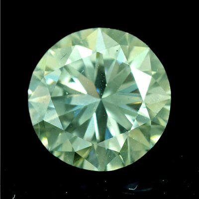 Round Cut 2.23 Ct 8.75 mm VS1 Excellent Green  Loose Moissanite