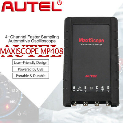 Authentic Autel MaxiScope MP408 Automotive Oscilloscope Works with Maxisys Tool
