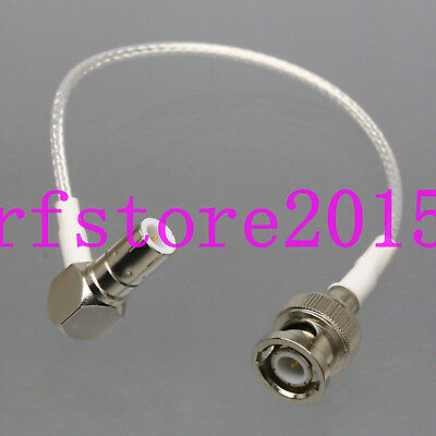 "RG316 6"" Quick Push-Pull Slide BNC/TNC Plug to BNC male Oscilloscope Test Cable"