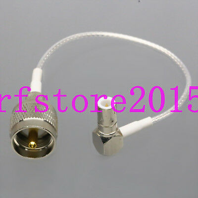 "RG316 6"" Push-Pull Slide BNC/TNC Plug to PL259 UHF Male Oscilloscope Test Cable"