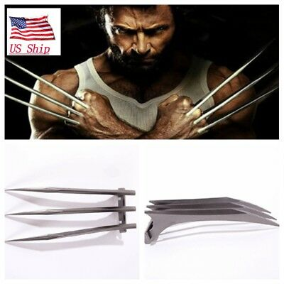 2PC X-Men Wolverine Logan Claws Blade of Refinement Cosplay ABS Props US Seller